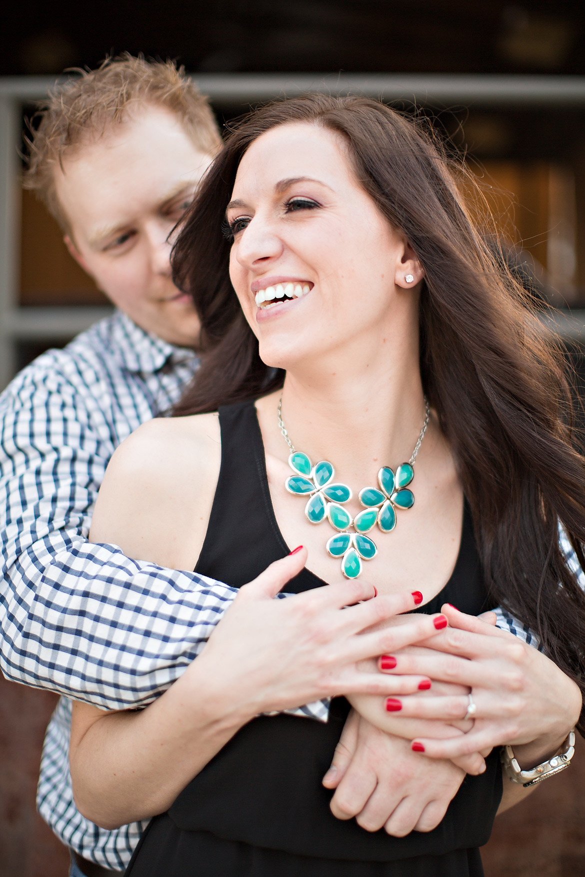 Jackie + Joey | Downtown Memphis Engagement