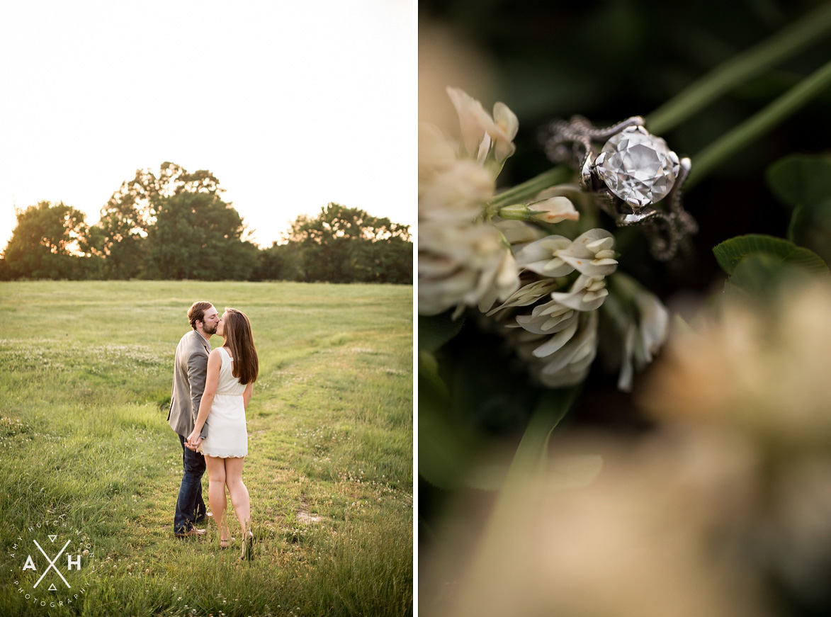 Romantic Memphis Engagement