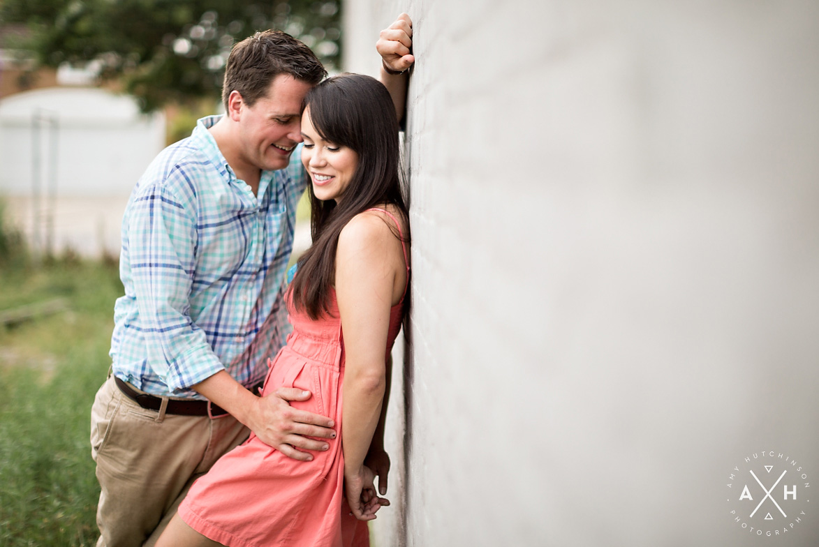 Downtown Memphis Bluffs Engagement