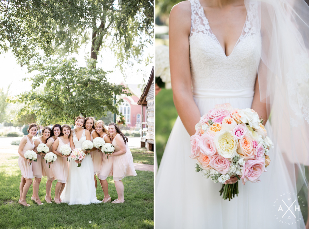 Memphis Collierville Square Wedding