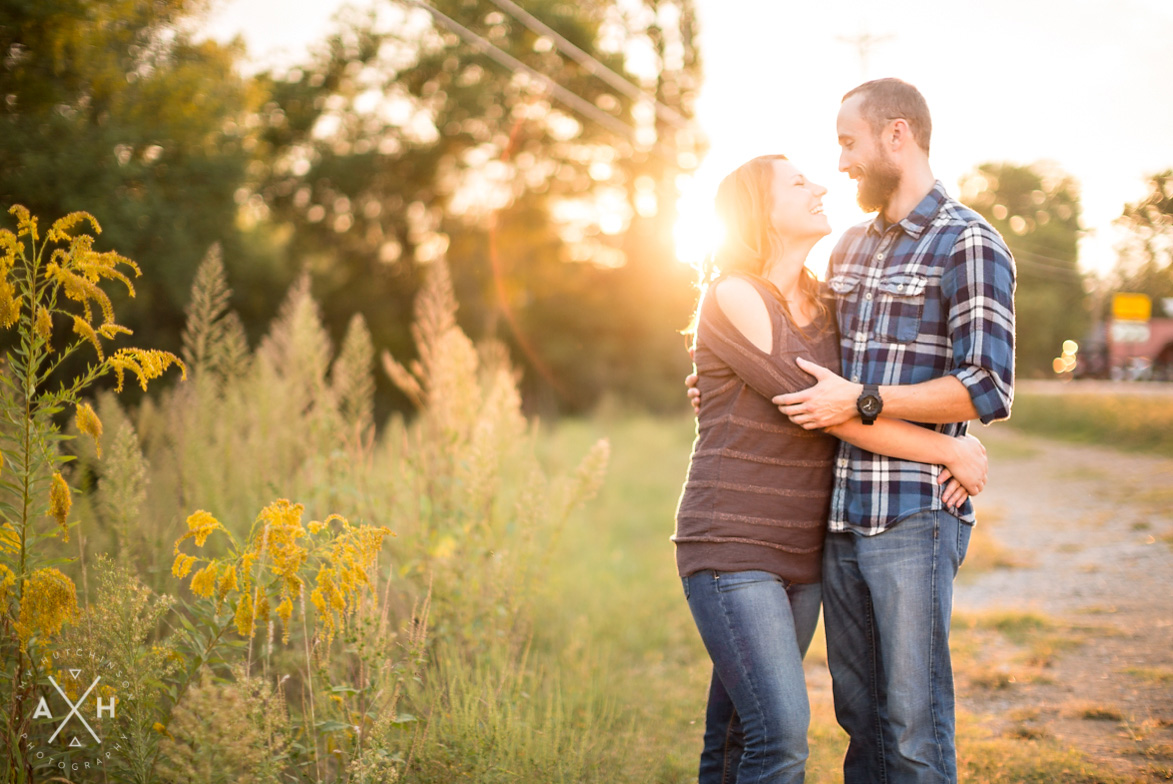 Rural Nashville Tennessee Engagement