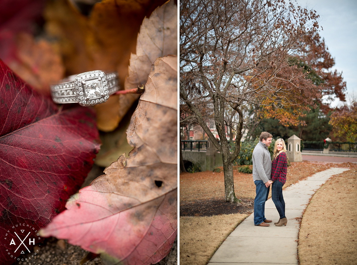 Downtown Memphis Winter Engagement