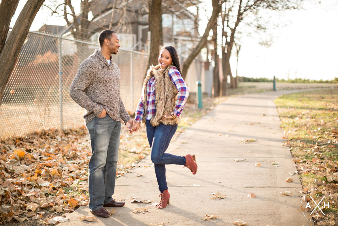Memphis Christmas Engagement