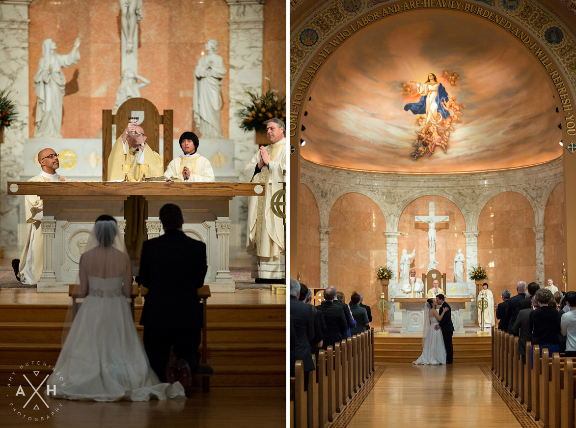 Memphis Catholic Wedding