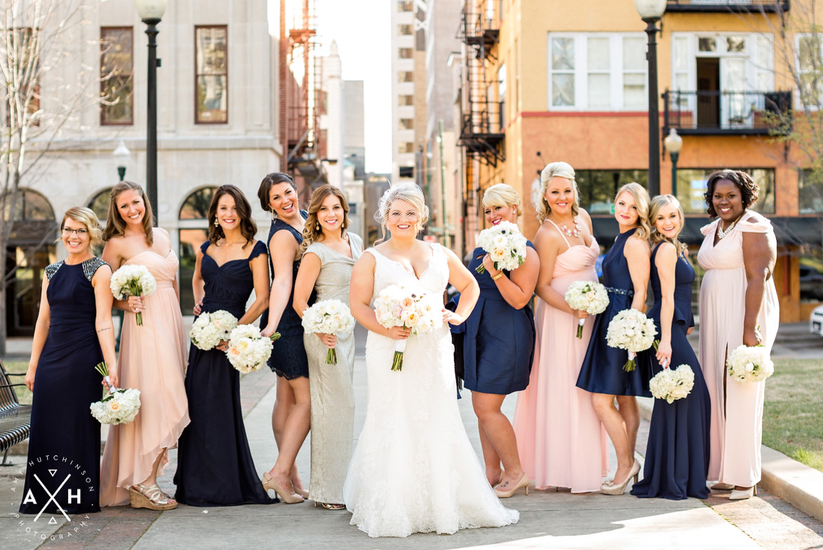 Downtown Memphis Wedding