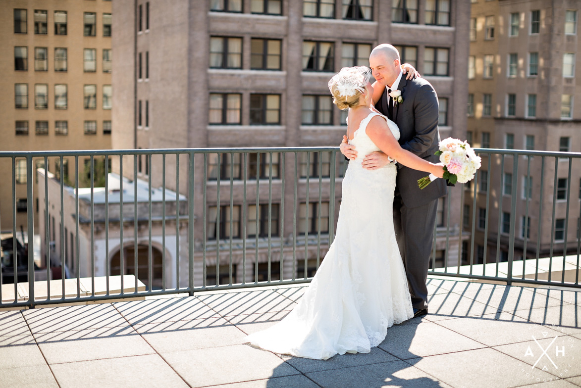 Memphis Springhill Suites Wedding