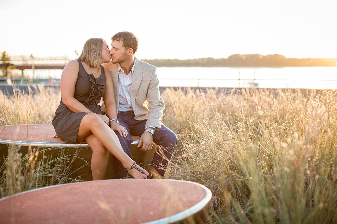 Emily + Colby | Memphis River Engagement