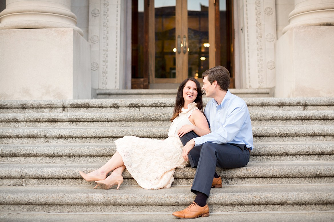 Olivia + Mike | a Memphis Dressy Engagement