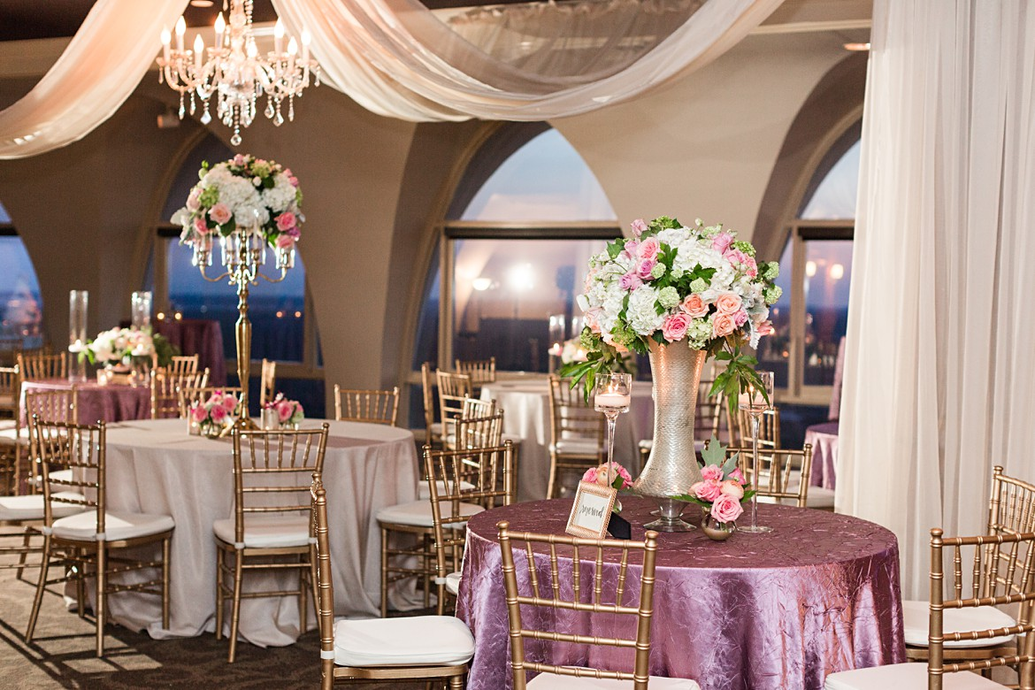Classic Tower Room Wedding