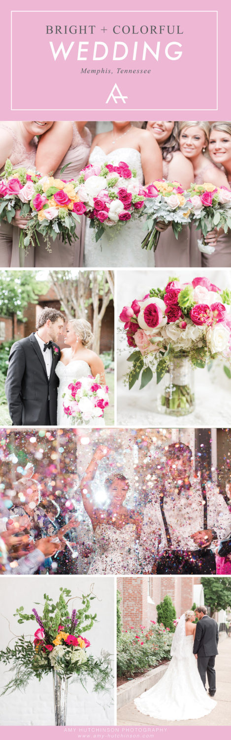 Bright and colorful memphis wedding bright colorful memphis wedding junglespirit Image collections