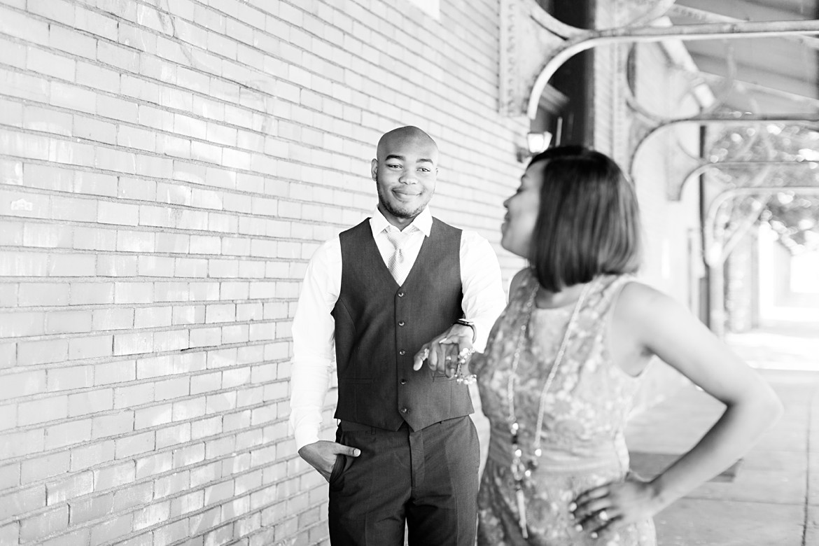 Colorful and Musical Memphis Engagement