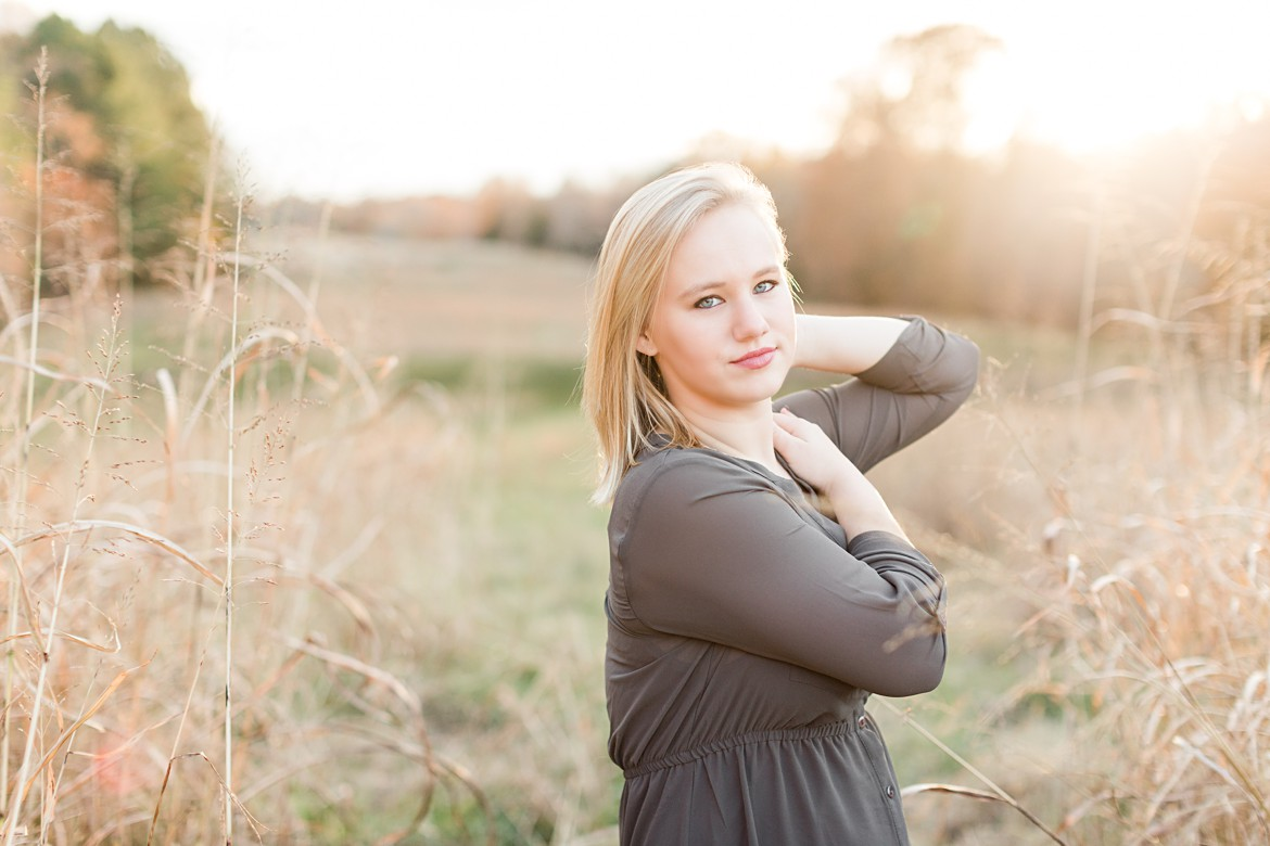 Memphis Fall Senior Portraits