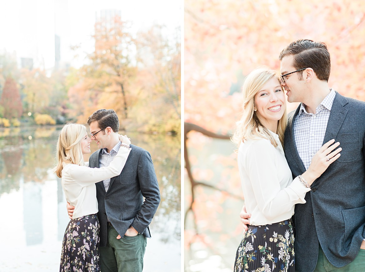 New York City Fall Engagement