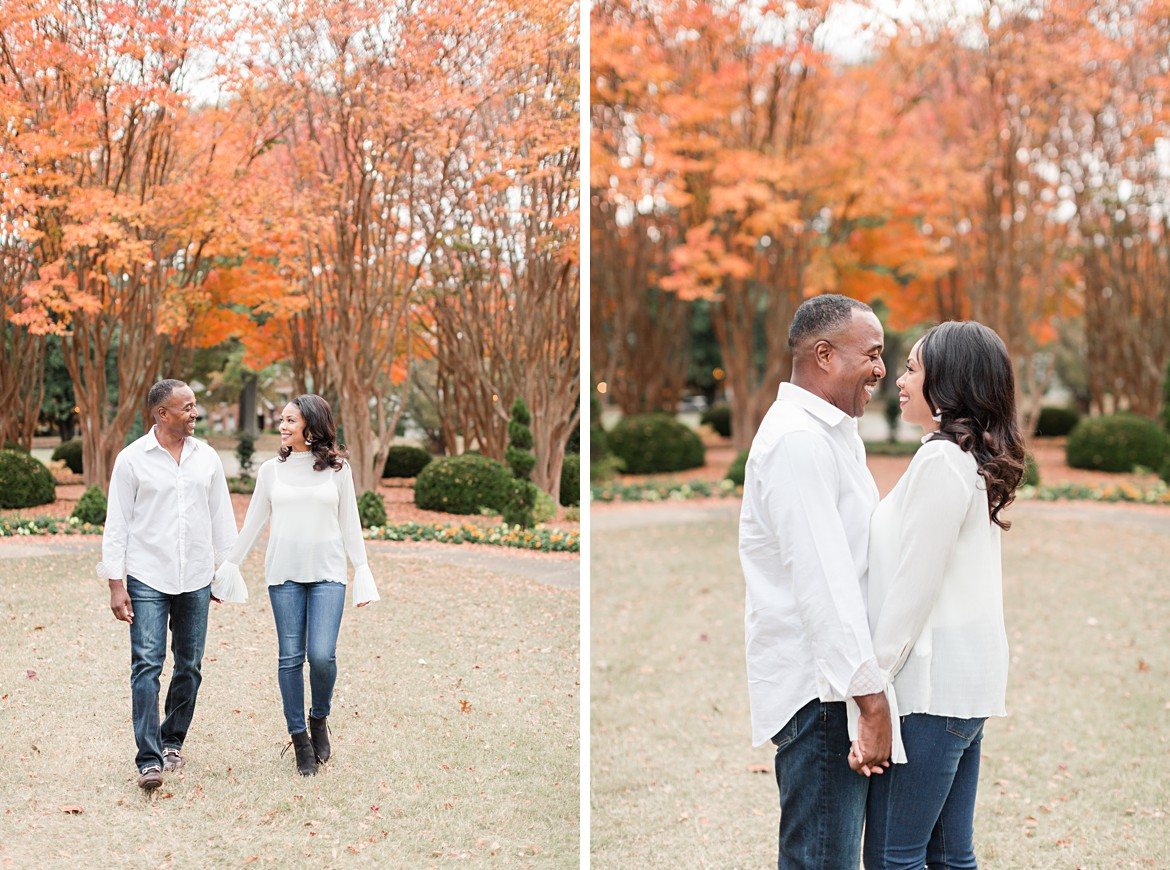 Midtown Memphis Fall Engagement with Wine and Cheese