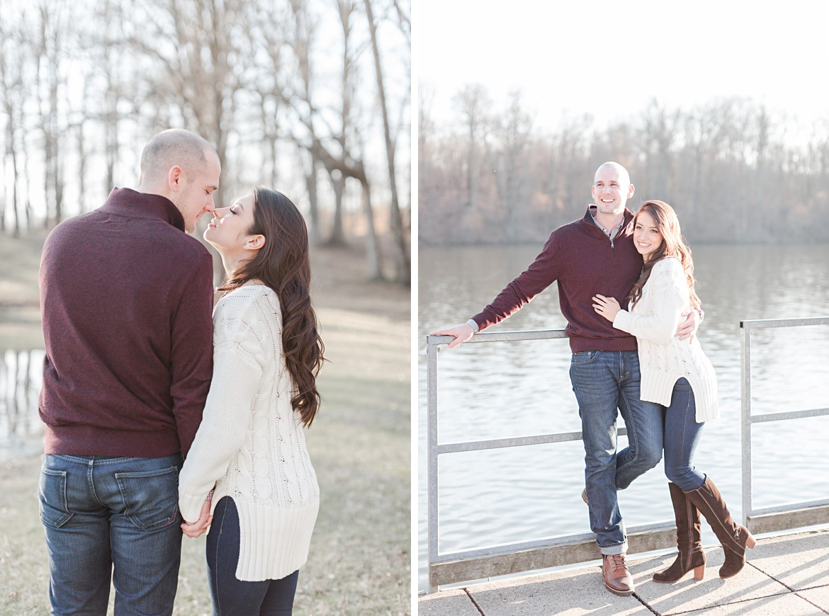 Memphis Winter Canoe Engagement Session