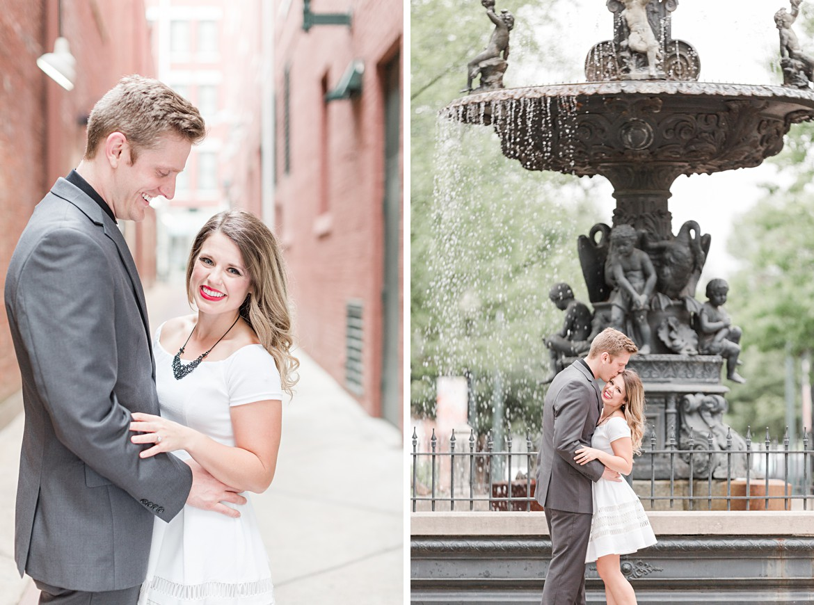 Downtown Memphis and Overton Park Engagement