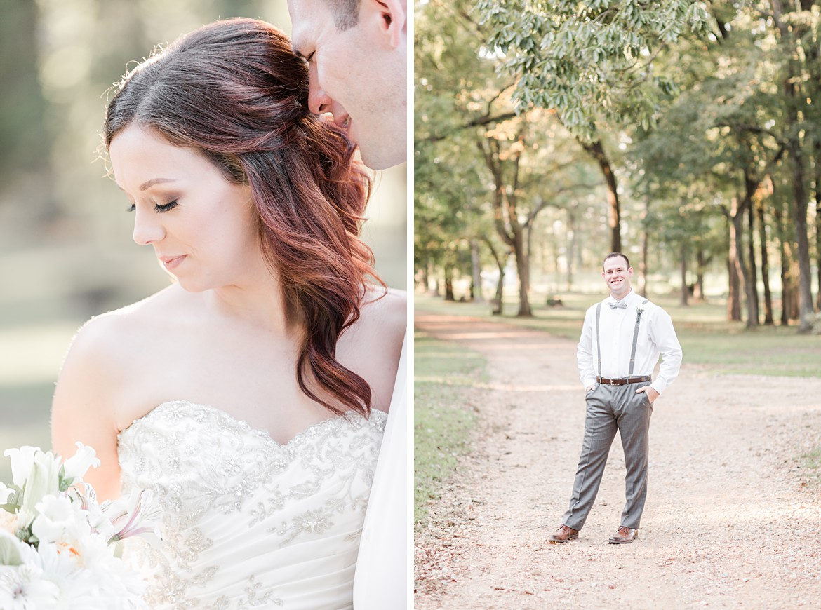 Wedding Portraits at Rose Hill in Mississippi