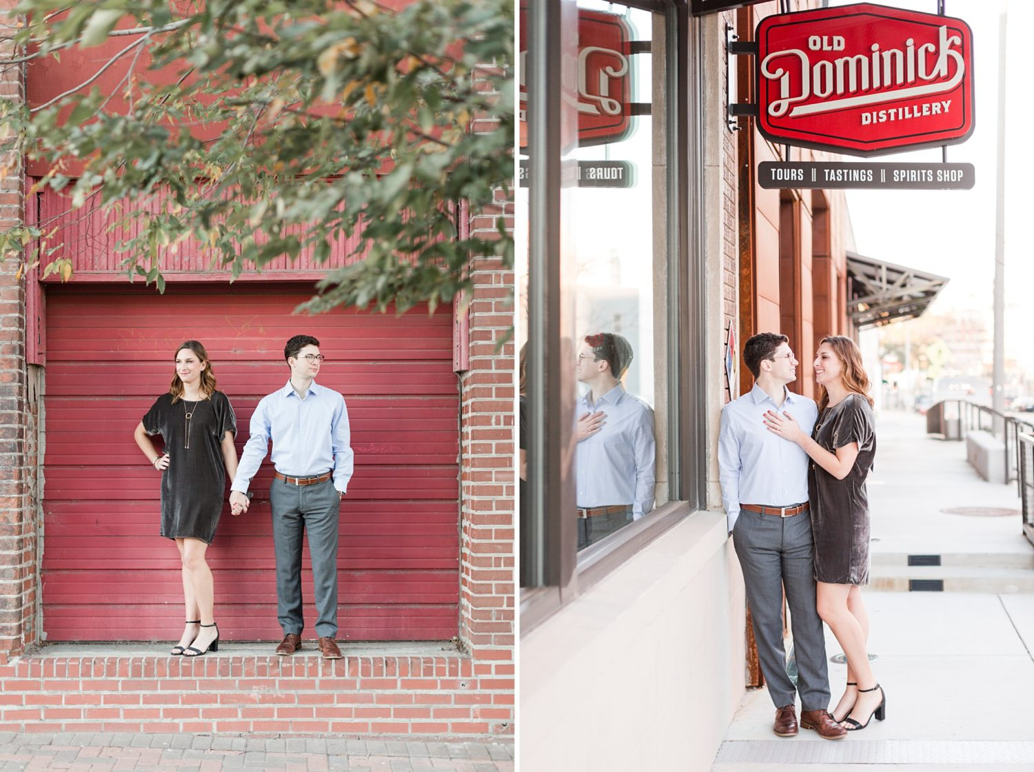 Cozy Downtown Memphis Enagement at Old Dominick