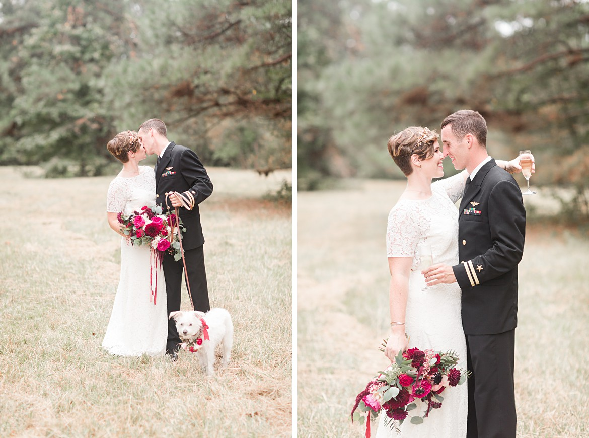 Outdoor Bohemian Fall Mississippi Wedding
