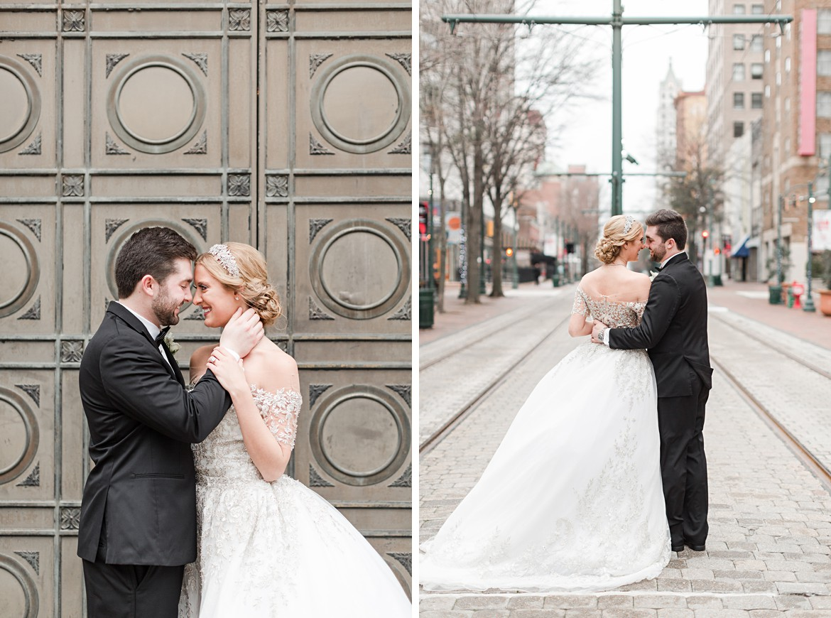 Downtown Memphis Cadre Wedding