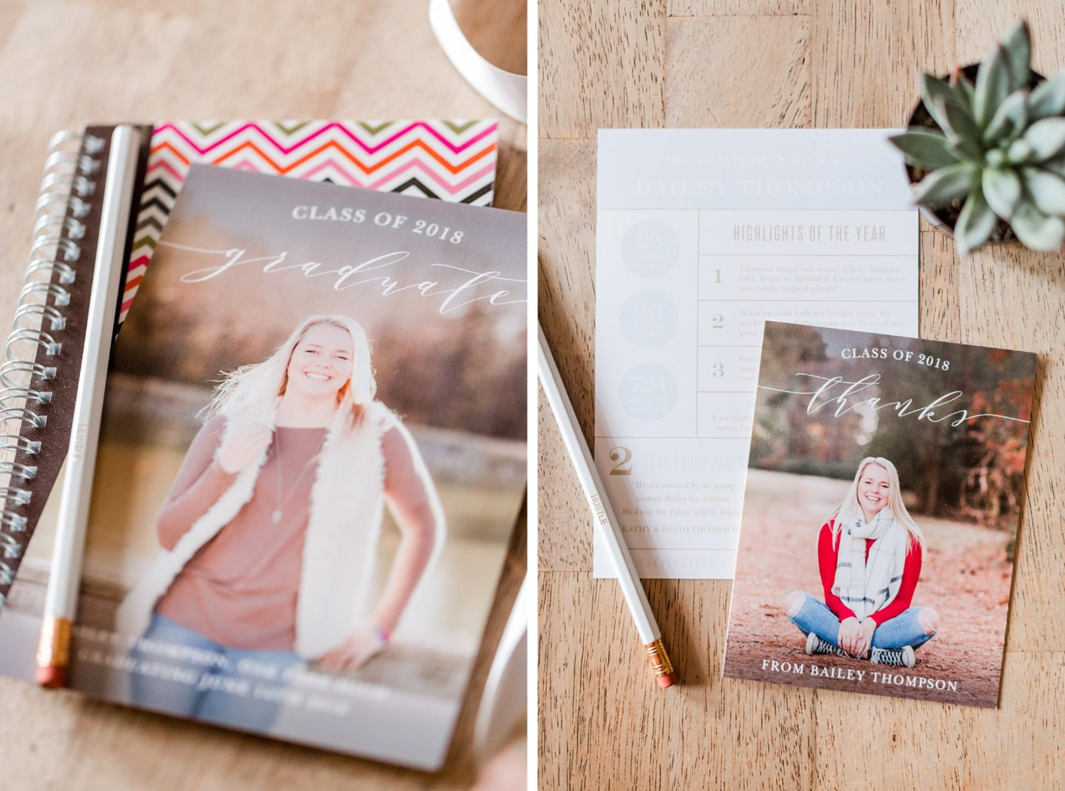 Senior Graduation Announcements with Basic Invite