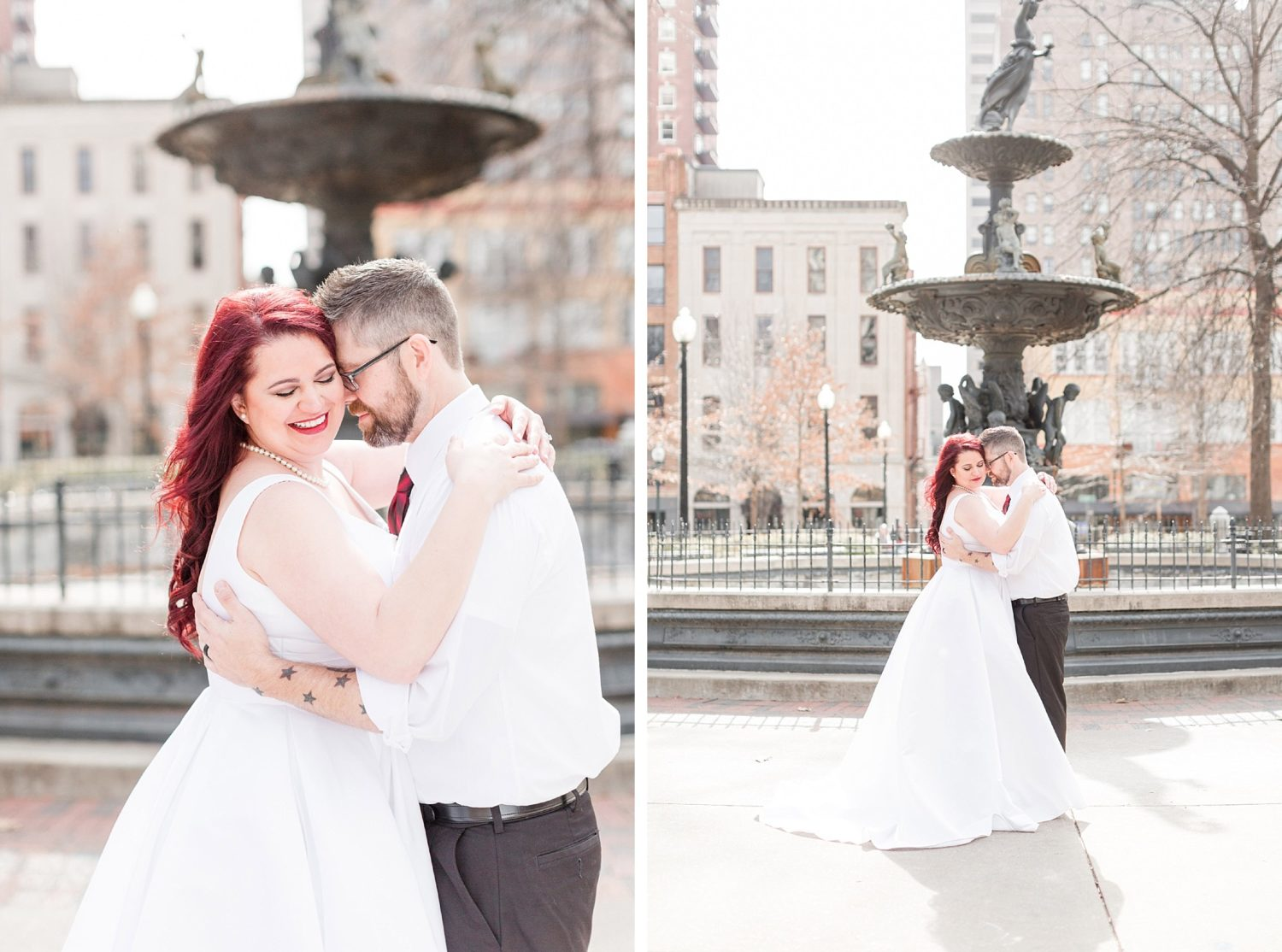 Downtown Memphis Courthouse Elopement