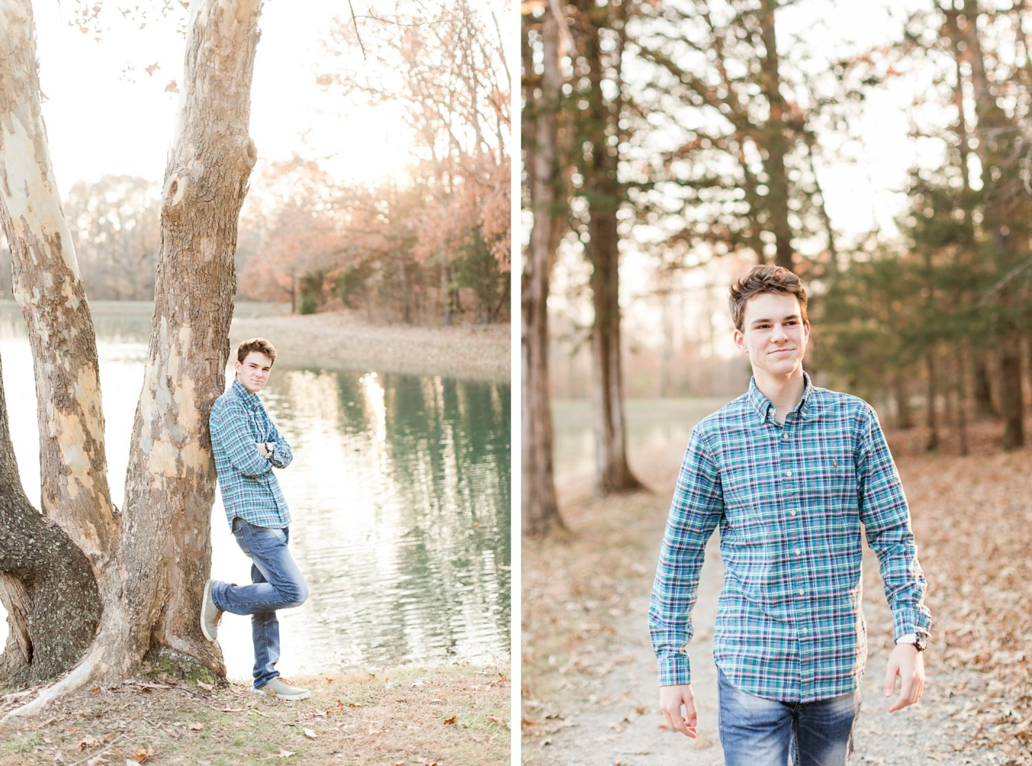 Memphis Senior Guy Sunset Portrait Session