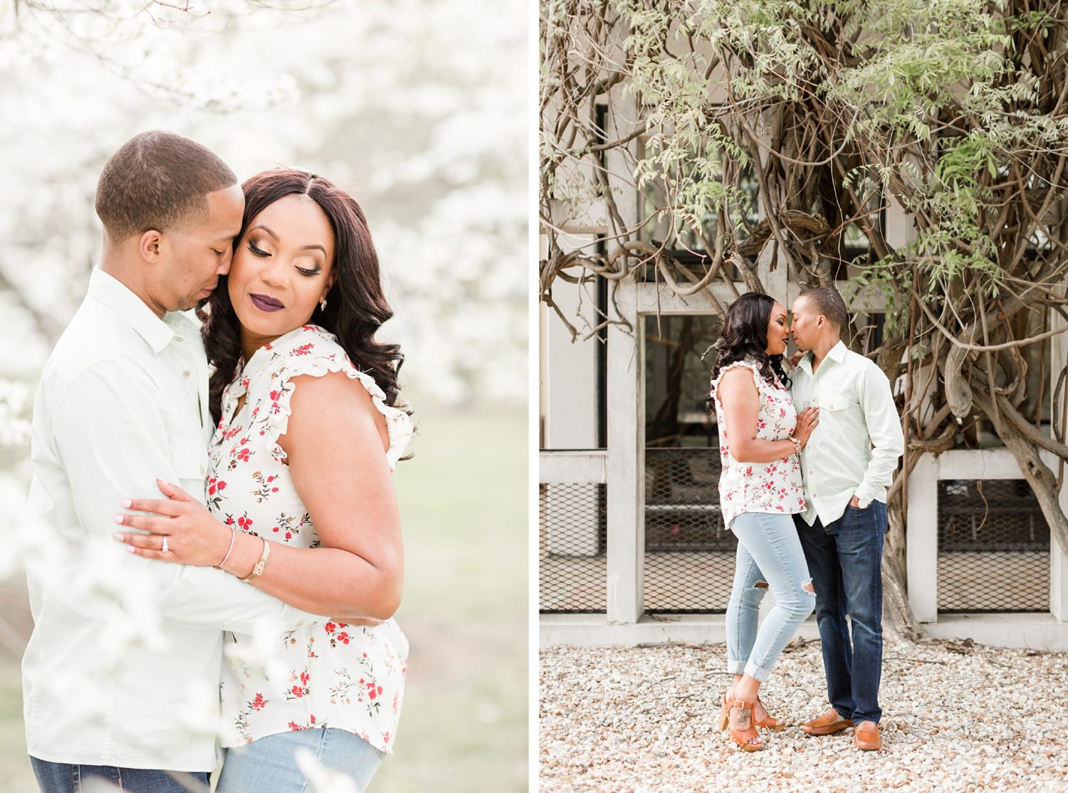 Urban Spring Memphis Engagement Session