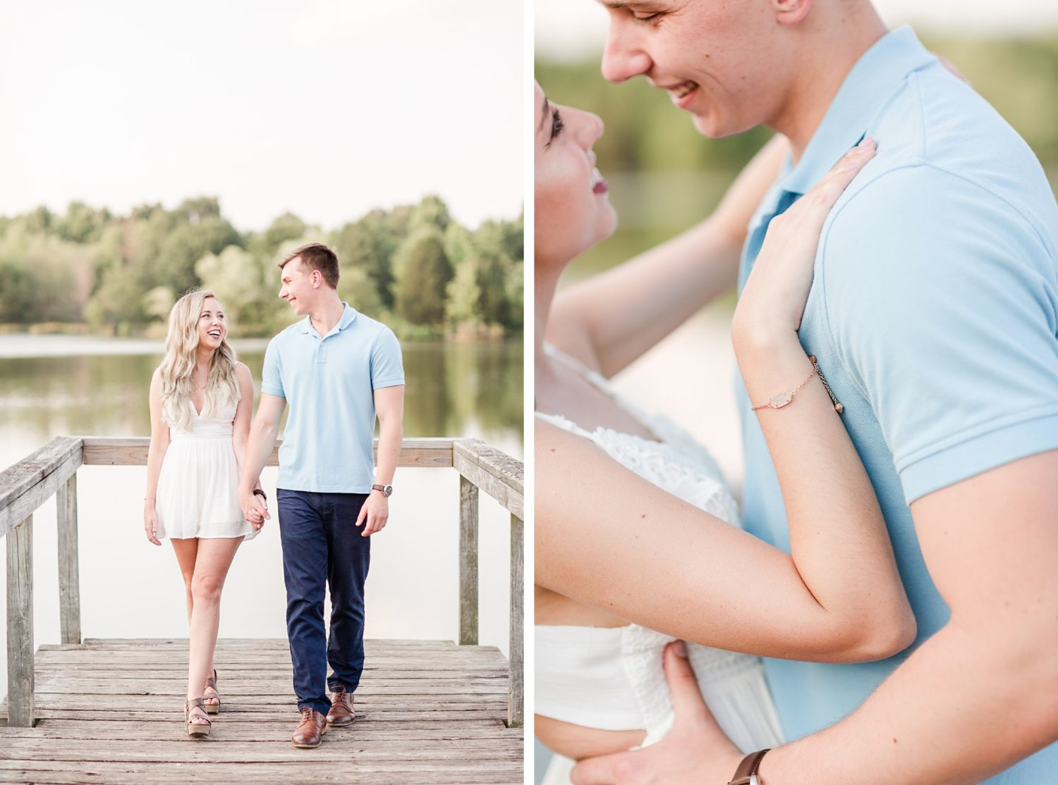 Summer Memphis Champagne Engagement Session