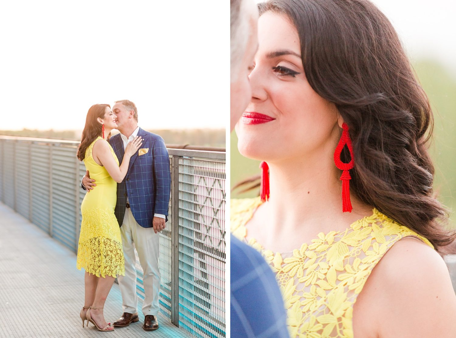 Bold and Bright Memphis River Engagement