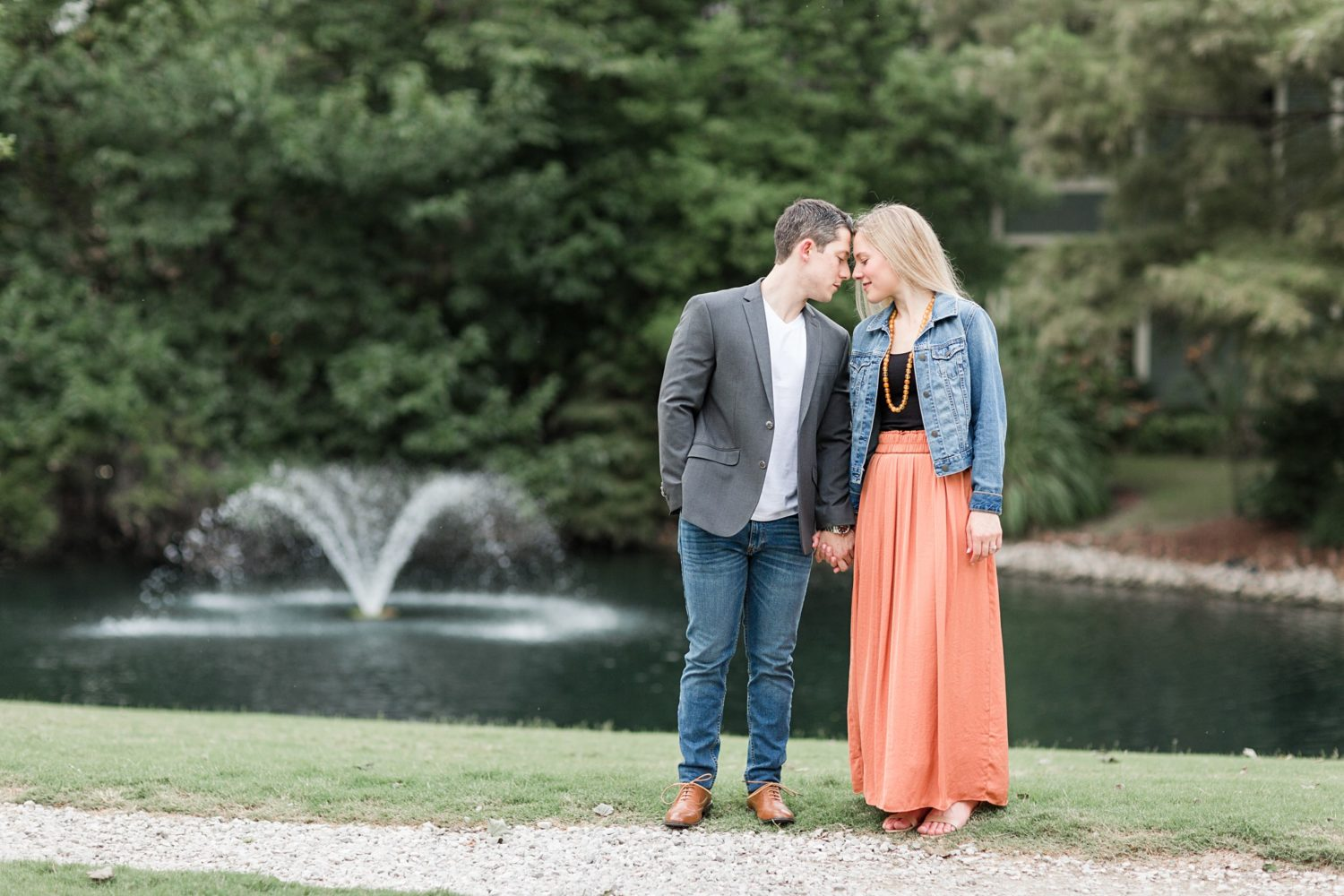 Autumn Memphis River Engagement