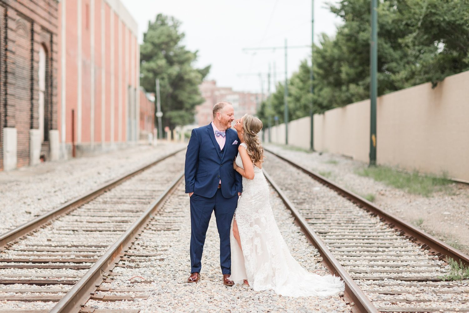 Intimate Summer Memphis River Wedding