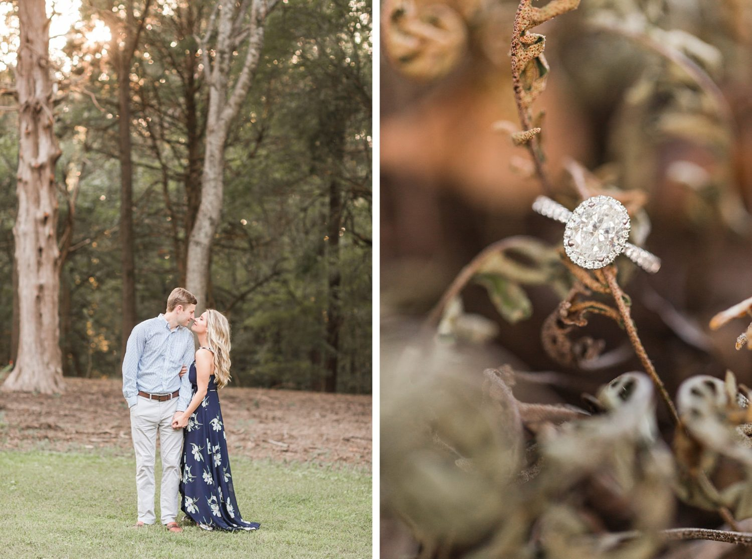 Orion Hill Memphis Fall Engagement