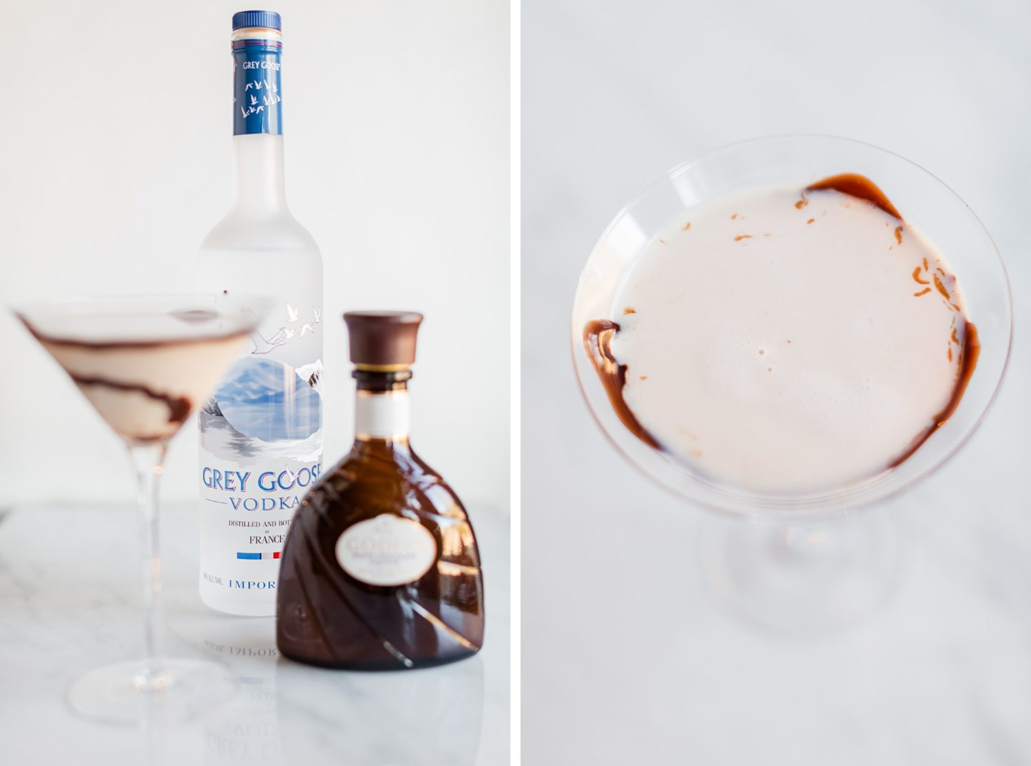 AHP April Cocktails: Candied Rosé + Chocolate Martini