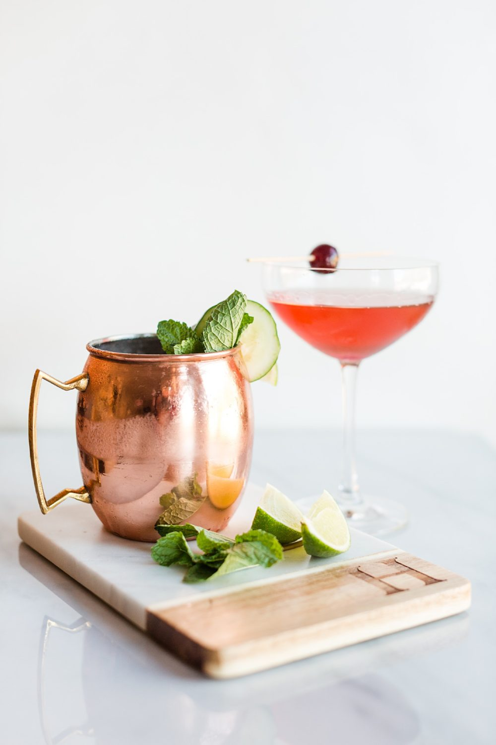 AHP March Cocktails: Mule + Manhattan