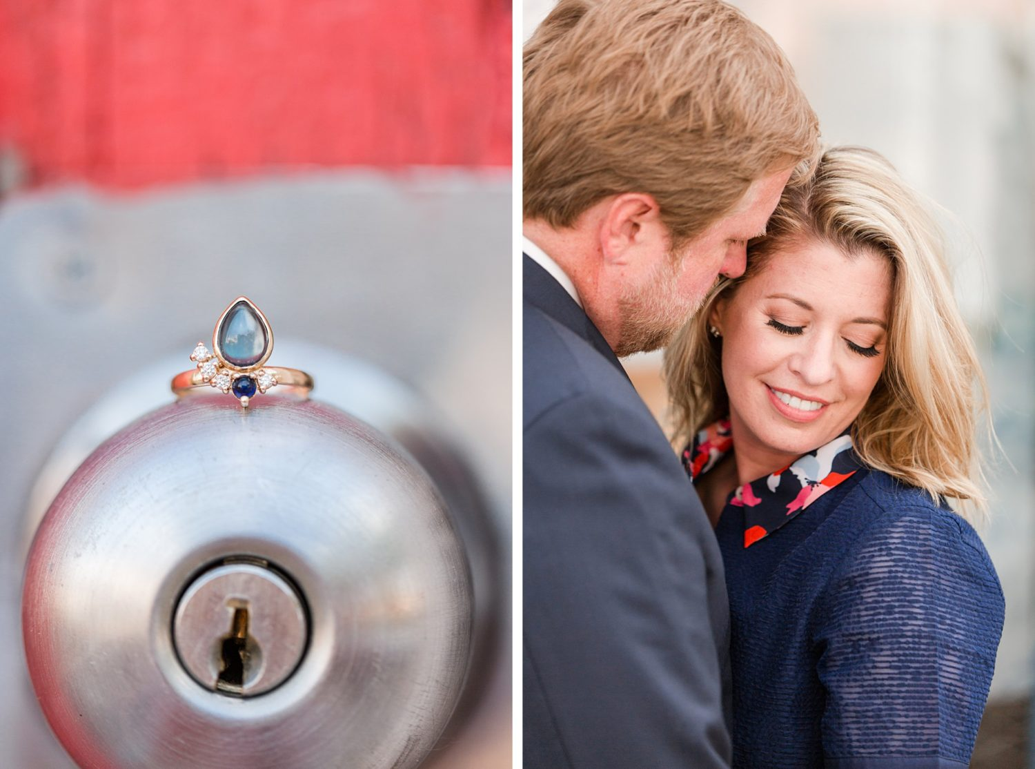 Fun, Colorful Downtown Memphis Engagement Session