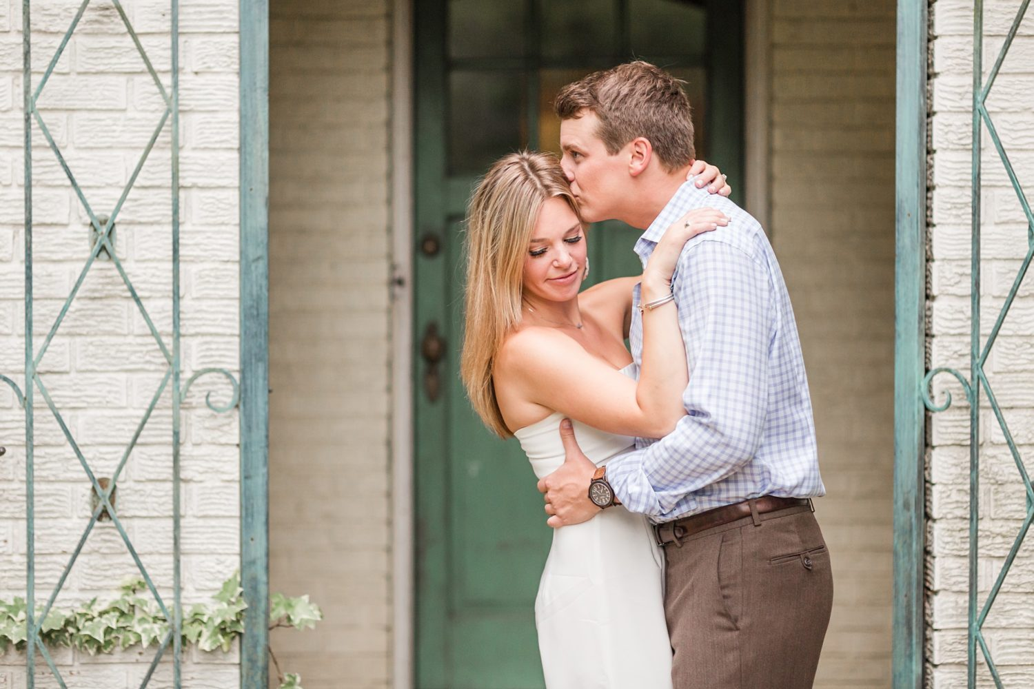 Natural and Rustic Engagement Session in Memphis