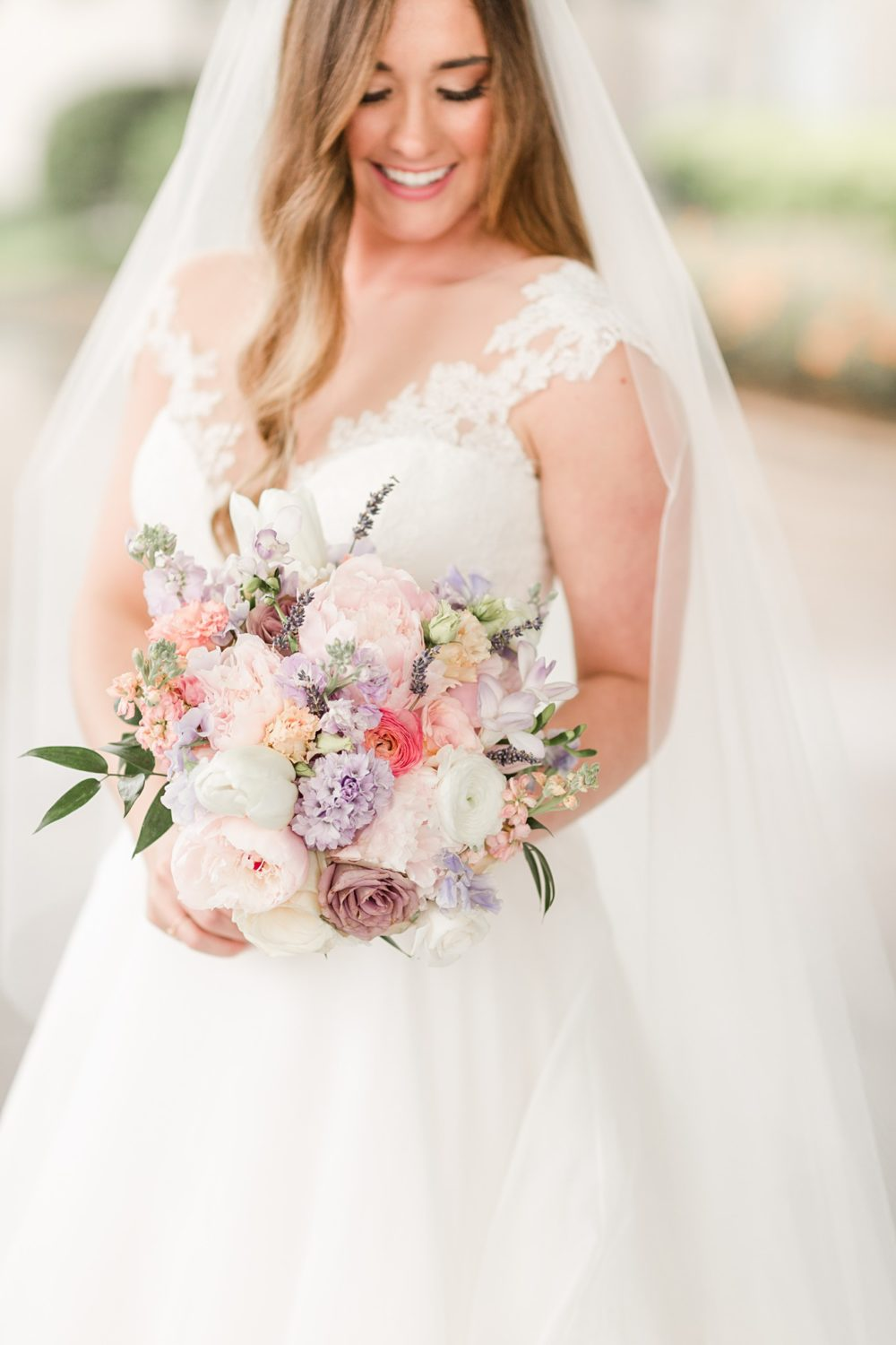 Stylish, Soft, Watercolor Wedding in Memphis