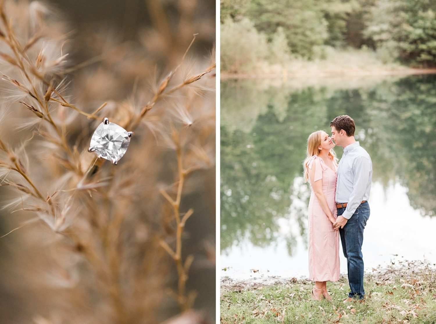 Natural, Rural, Tennessee Fall Engagement