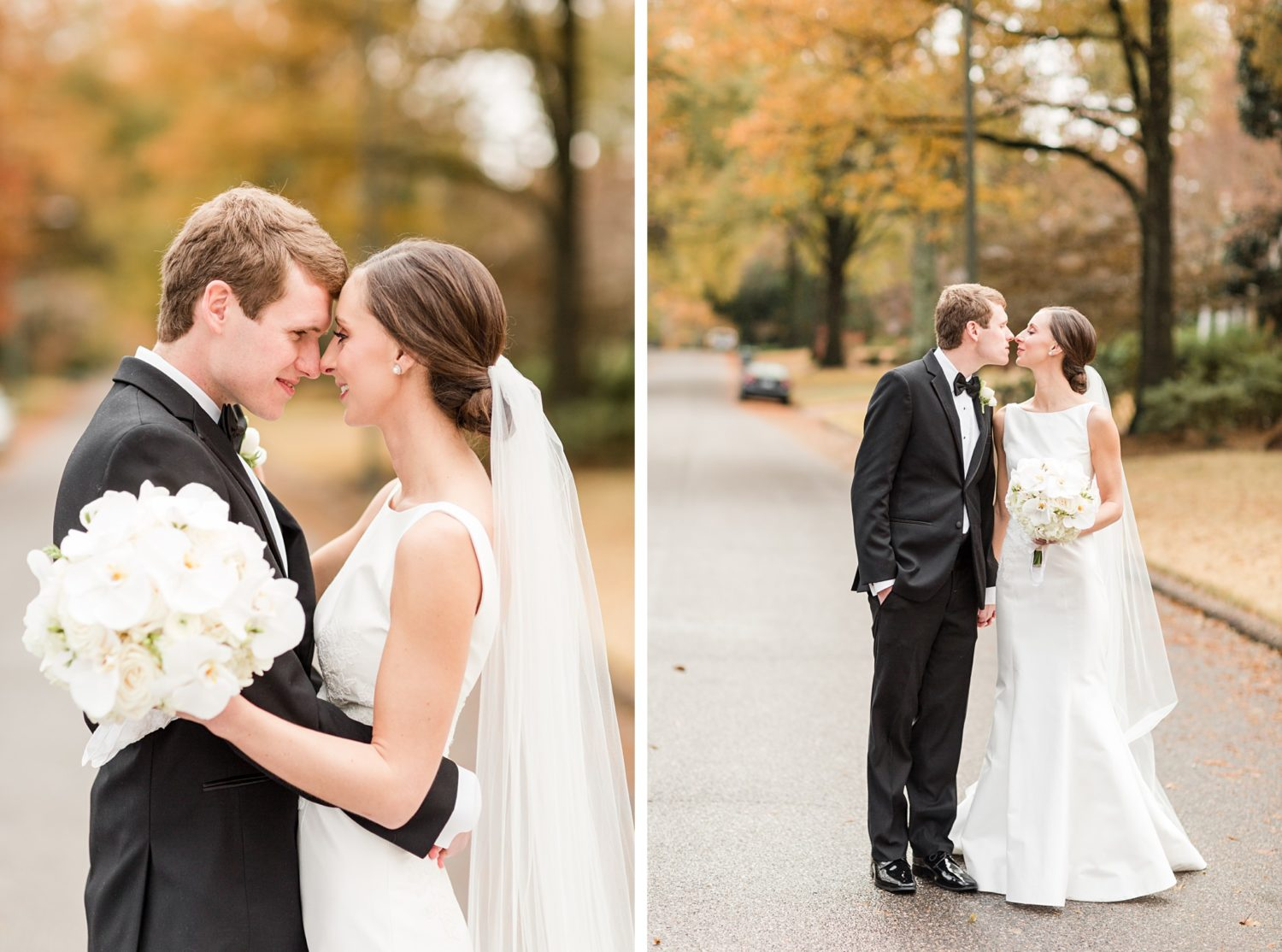 Fall Backyard Wedding with Reception at Memphis Country Club