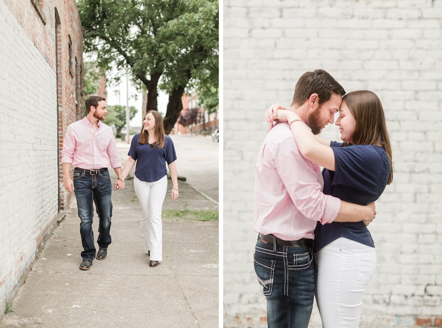 Downtown Memphis Covid Engagement Session