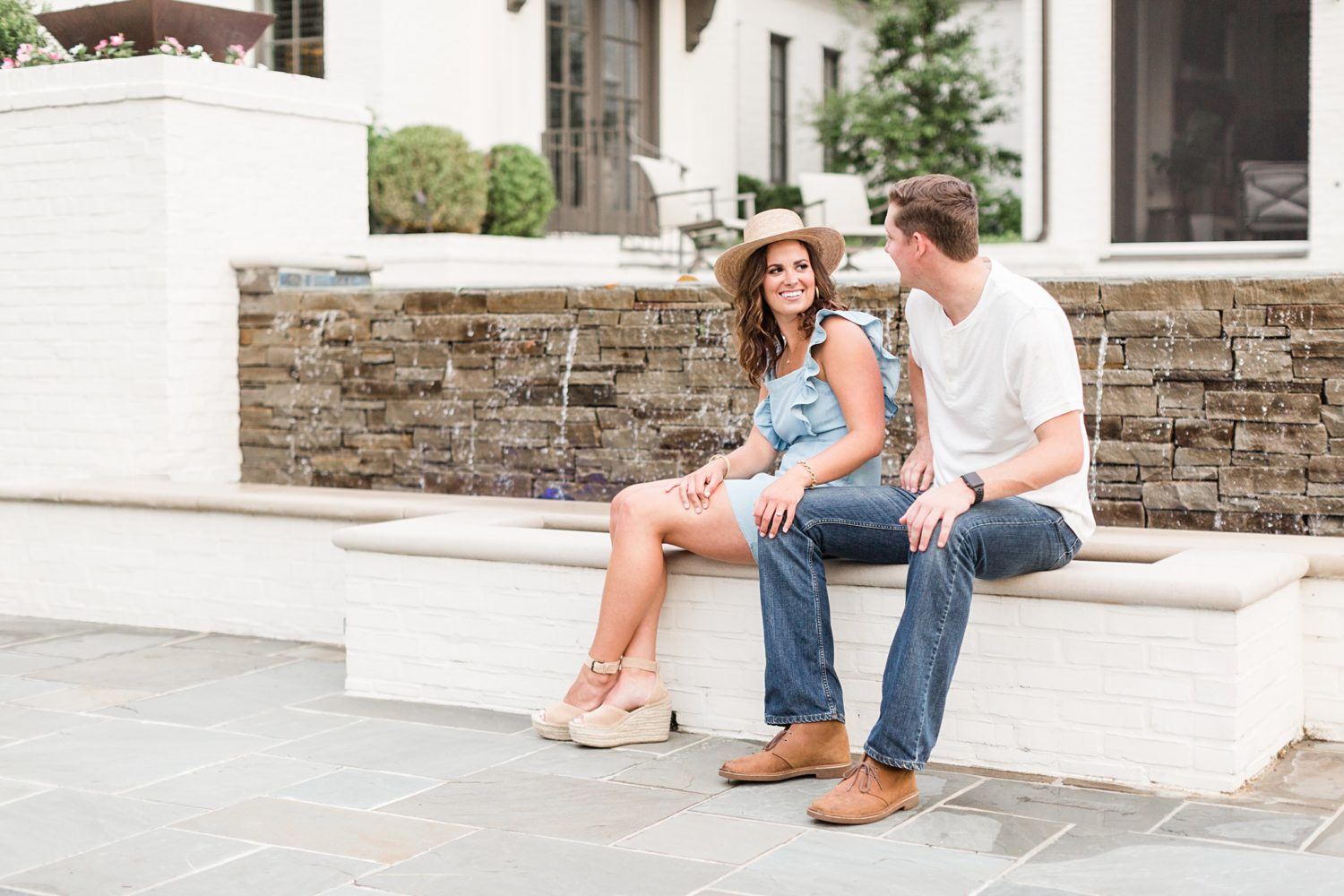 Memphis Rainy Day Engagement Session