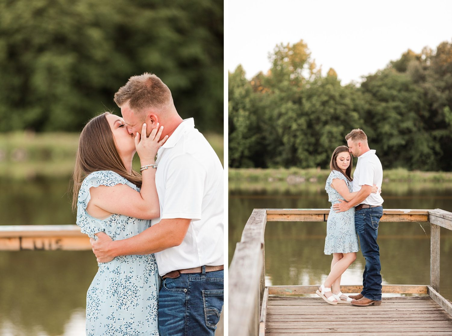 A Summer Natural Engagement Session in Memphis