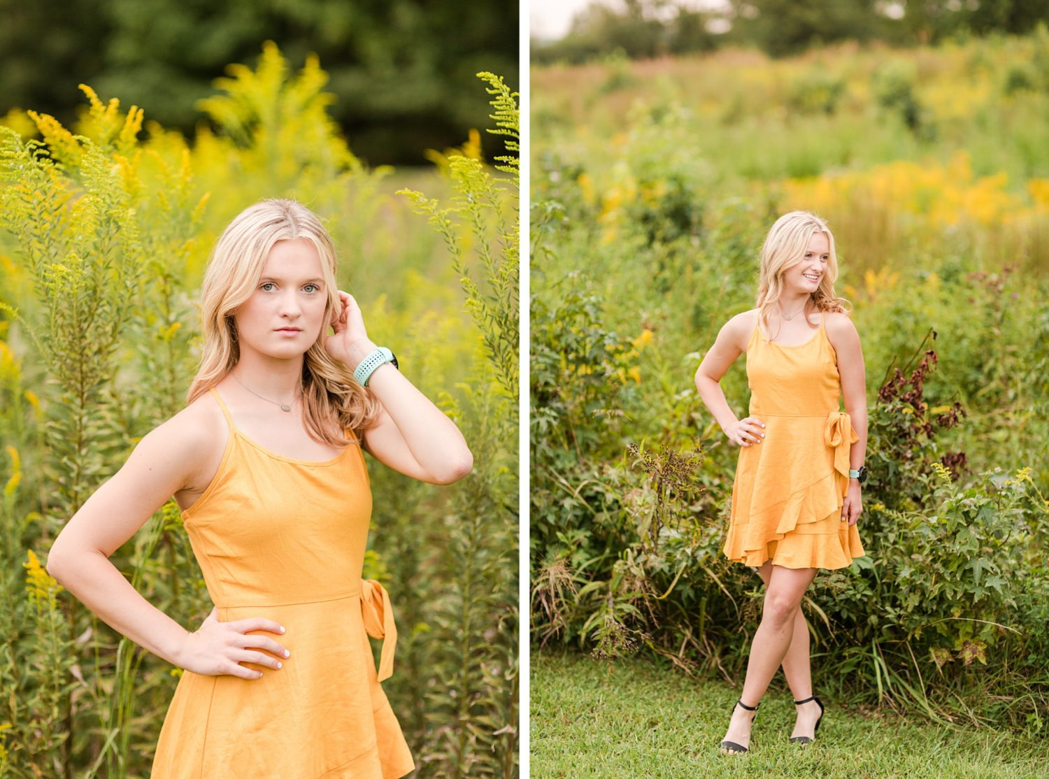 Colorful Fall Senior Session in Memphis