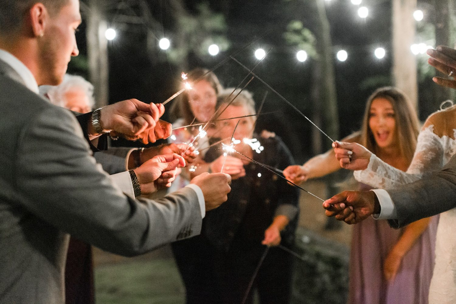 Natural, Wooded, Intimate Franklin Wedding